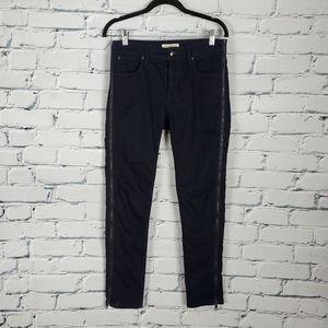 Burberry Radcliffe Skinny Zipper Jeans